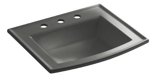 - KOHLER K-2356-8-58 Archer Self-Rimming Bathroom Sink with 8