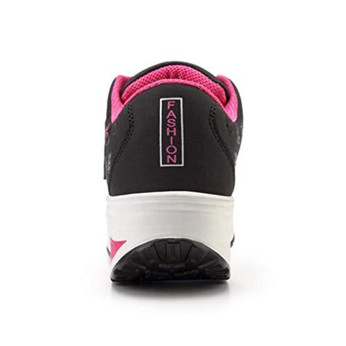 L'eau La forme Noir Casual Lumière Jrenok Cales Femmes Confortables Mode De Imperméables À Sneakers Chaussures Des Plate Ug0qB
