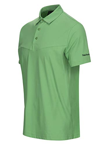 PEAK PERFORMANCE Load - Polo de golf, color verde, Unisex adulto ...