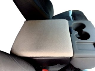 - Auto Console Covers - Center Armrest Cover - Compatible with Ford F250 Super Duty Trucks 2002-2019 - Waterproof Neoprene, Gray
