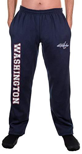NHL Men's Premium Fleece Official Team Sweatpants (Washington Capitals, Large)