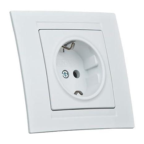 Moderna Ein//Ausschalter mit LED Anthrazit