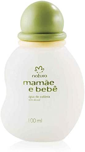 Linha Mamae Bebe Natura - Agua de Colonia Lavanda Sem Alcool 100 Ml - (Natura Mom and Baby Collection - Alcohol-Free Lavender Eau de Cologne 3.4 Fl Oz)