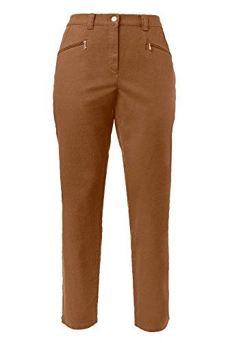 Pantaloni Fino Popken Taglie Nuss 120 Ulla Donna 624655 Da Elasticizzati A 0EqdUxR
