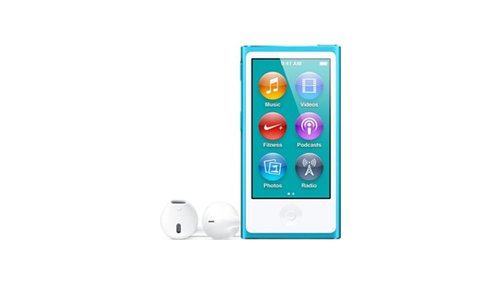Apple 16 GB iPod Nano  Blue