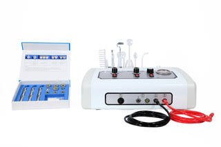 Patented Microdermabrasion 5 in 1 Facial Machine Table Top Skin Care equipment TLC-3025M by emarkbeauty
