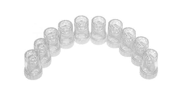 20 Unidades Estuches Lentillas – Al por Mayor con Forma de Barril – Marcados CE & Aprobados por la FDA: Amazon.es: Salud y cuidado personal
