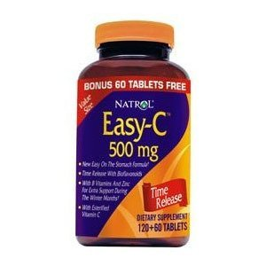 Natrol Easy-C 500mg, 180Tablets