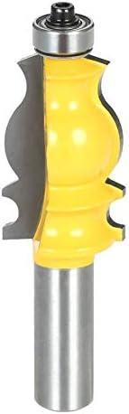 耐久性のある1/2シャンク建築成形ルータービット反キックバック留め継ぎトリミングフライスカッターツール大工木工ツールDIY木工旋盤