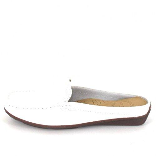 Wirth Pantolette, Farbe: Weiß Weiß