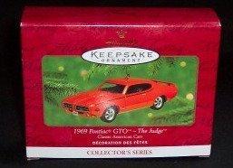 Hallmark Keepsake 1969 Pontiac Gto The Judge 2000 Christmas Ornament