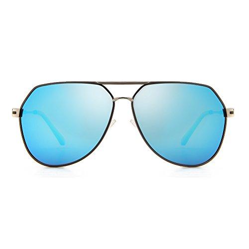 Lens Homme Frame Cyxus Deep Blue Grey Lunettes de soleil CxwwtSq8