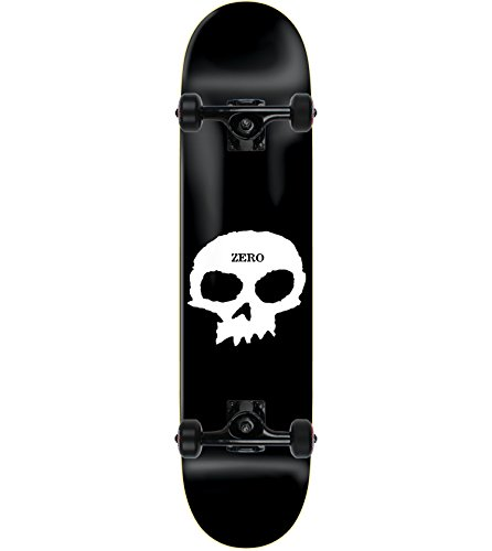 ZERO Skateboard Complete SINGLE SKULL 8.5