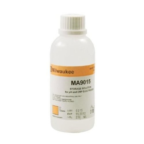 Milwaukee Instruments MA9015, pH/ORP Storage Solution, 230 ml, Pack of 25 pcs