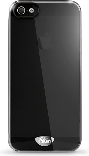 iSkin 733108004839 Claro Clear Case for iPhone 5 - 1 Pack - Retail Packaging - Black ()