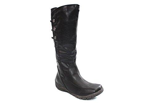 Marco genoux 2 Bottes Tozzi 25623 25 hauteur Noir femme rYRrUwx