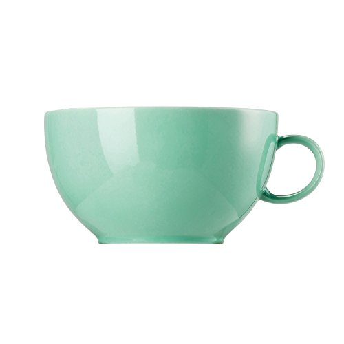 Thomas Sunny Day Cappuccino Cup, Mug, Porcelain, Baltic Green, Dishwasher Safe, 380 ml, 14672