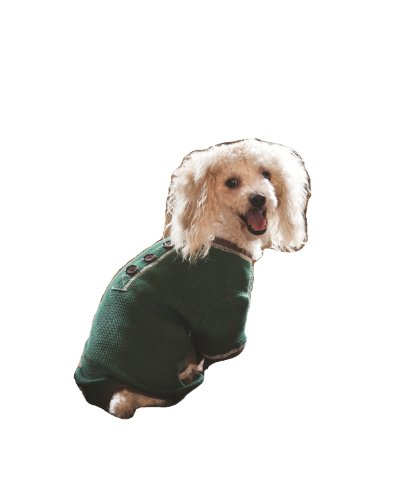 Fashion Pet Outdoor Dog Warm and Toasty Pajamas, Small, Green, My Pet Supplies