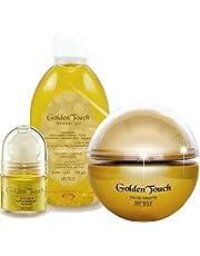 Golden Touch Set Includes EDT 50ml Shower Gel 700ml Roll On 50ml