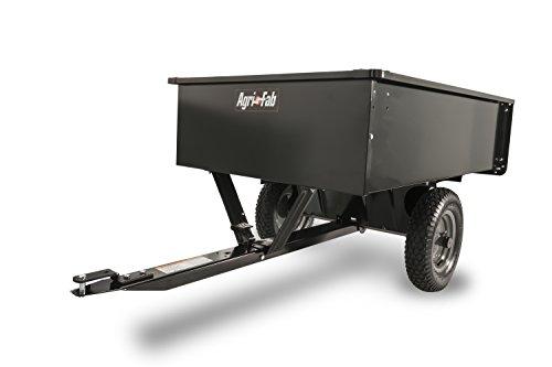 Agri-Fab 45-0101 750-Pound Max Utility Tow Behind Dump Cart, Black by Agri-Fab