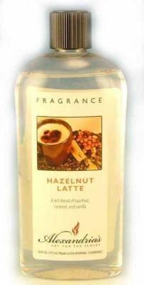 Alexandria Fragrance Lamp Oil Refills - 16oz - HAZELNUT LATTE (Alexandria Fragrance Lamps)