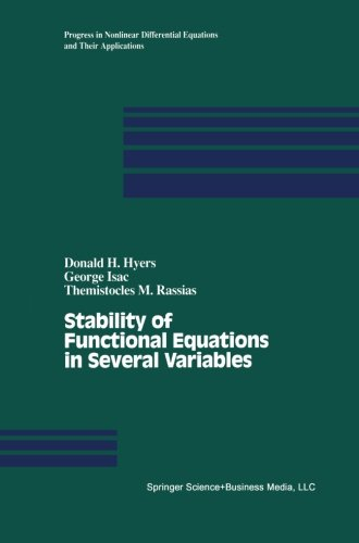 Stability of Functional Equations in Several Variables