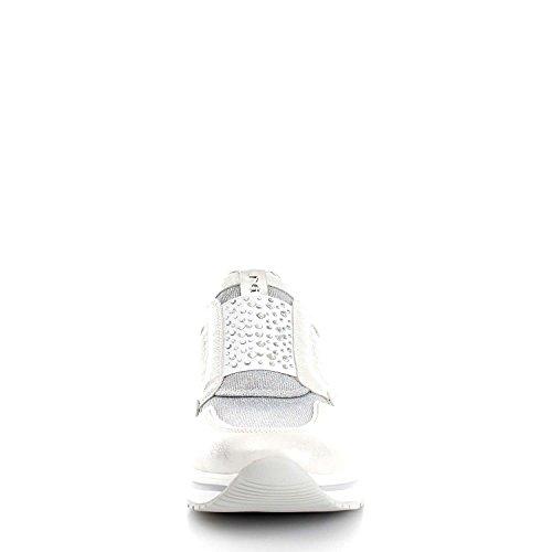 Nero Giardini - Zapatillas para mujer Capra Nero plateado