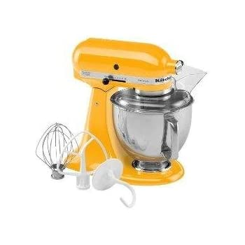 Marvelous KitchenAid Artisan Mixer 5KSM150YP Yellow Pepper 220 VOLTS ONLY