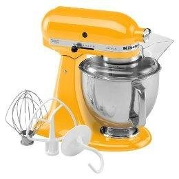 KitchenAid Artisan Mixer 5KSM150YP Yellow Pepper 220 VOLTS ONLY