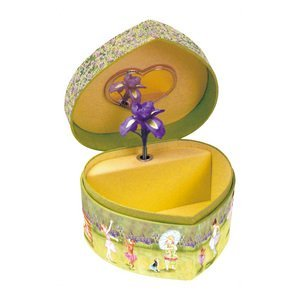 Enchantmints Posies and Petals Heart Shaped Music Box by Reeves (Image #1)