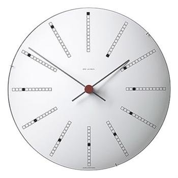 Amazon.com: Arne Jacobsen – Reloj de pared de banquero 11.4 ...