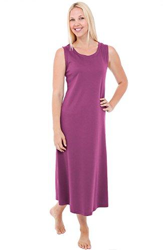 Del Rossa Womens Nightgown Sleeveless