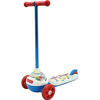 Fisher-Price Popping Scooter, Multi: Sports & Outdoors