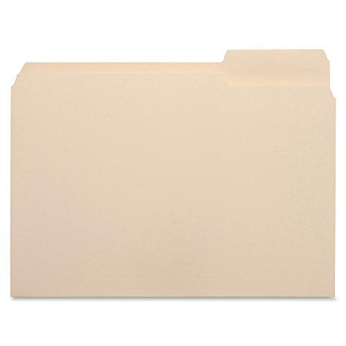 - Business Source 1/3 Cut Top Tab File Folder - Right Tab - Box of 100 Manila