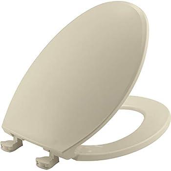 Stupendous Bemis 1500Ec 006 Toilet Seat With Easy Clean Change Hinges Machost Co Dining Chair Design Ideas Machostcouk