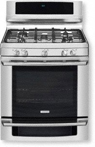 "Electrolux EW30GF65GSWave-Touch 30"" Stainless Steel Gas Sealed Burner Range - Convection"