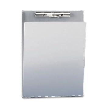 SAU12017   Saunders Aluminum Clipboard W/Writing Plate