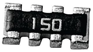 YAGEO YC124-JR-074K7L RESISTOR 50 pieces ISO ARRAY 4RES 4.7KOHM 5/% SMD