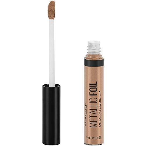 Maybelline Lip Studio Metallic Foil Metallic Liquid Lipstick Makeup, Trident, 0.16 fl. oz.
