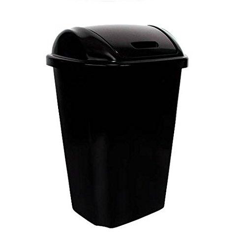 BLOSSOMZ Hefty Swing-Lid 13.5-Gallon Trash Can