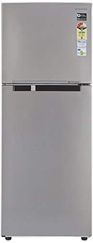 Samsung 321 L 3 Star Frost Free Double Door Refrigerator RT34M3053S8, Elegant Inox, Inverter Compressor