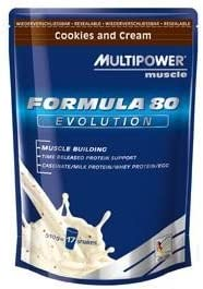 Multi Power Formula 80 Evolution, 4 x 510 g, color verde ...