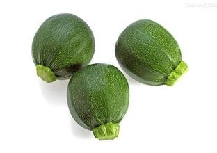Zucchini Green Round Ball, Summer Squash Vegetable 50 Seeds