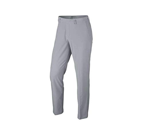 NIKE Flat Front Stretch Woven Golf Pants 2017 (Wolf Grey/Anthracite, ()