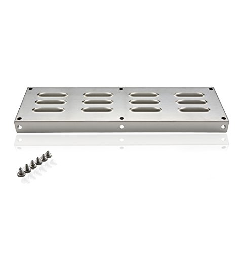 (Skyflame 15-Inch by 4-1/2-Inch Venting Panel for Masonry Fire Pits and Outdoor Kitchens, Stainless Steel)