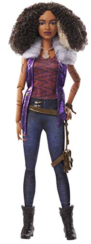 """Disney Zombies 2, Willa Lykensen Werewolf Doll (11.5inch) Wearing Rocker Outfit and Accessories, 11 Bendable """"Joints,"""" Great Gift for Ages 5+"""