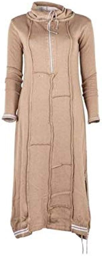 Elisa Cavaletti - Vestido de punto Liberta EJW194018100 beige L: Amazon.es: Ropa y accesorios