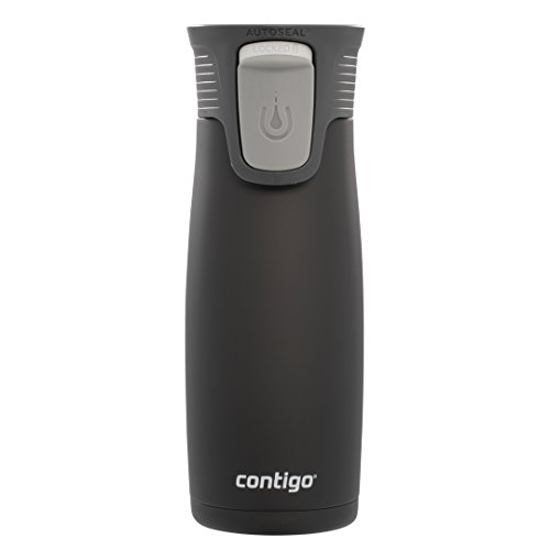 Contigo Astor Vacuum Insulated Autoseal Easy-Clean lid travel tumblers Stainless Steel Black Matte Limited Edition