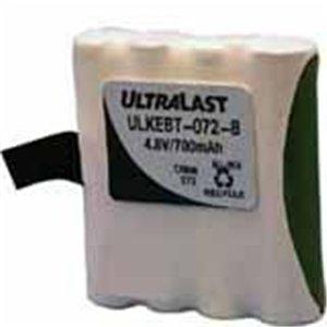 Dantona Industries, Inc - Nabc Ultralast Ulkebt-072-B Nickel-Metal Hydride Radio Battery - Nickel-Metal Hydride (Nimh) - 700Mah - 4.8V Dc