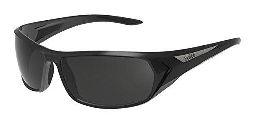 Bollé Blacktail - Lunettes de soleil - Mixte Adulte - Noir (Blacktail Shiny Black/Black Polarized TNS oleo AF) - Taille unique vAVFKj